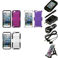 For Apple iPod Touch 5th 6th Gen Hybrid IMPACT Hard TUFF Hybrid Case Accessories
