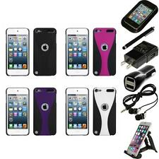 For iPod Touch 5th 6th Gen Snap-On Rear Hard Back Cover Phone Case Accessories