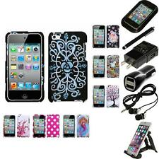 For Apple iPod Touch 4th Gen Design Snap-On Hard Case Phone Cover Accessories