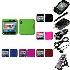 For Motorola Flipout MB511 Rigid Plastic Hard Snap-On Case Cover Accessories