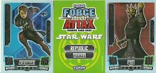TOPPS FORCE ATTAX STAR WARS FORCE MASTER CARDS SERIES 2 PICK YOUR OWN