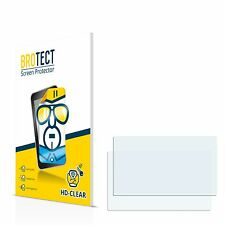 2x BROTECT Screen Protector for TomTom Via Live 120 - Central Europe Traffic
