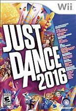 WII GAME - JUST DANCE 2016 (NEW FACTORY SEALED!)