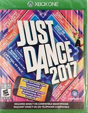 XBOX ONE GAME - JUST DANCE 2017 (NEW FACTORY SEALED!)