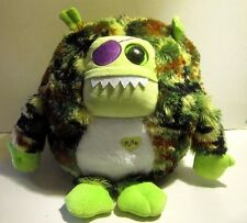 Ty Patch Monstaz Monster Camo Sound Large Size About 11 inch tall wide