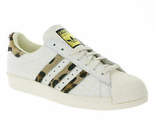 NEW adidas Originals Superstar 80s Animal Shoes Men's Sneakers Trainers White