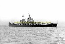 USS Canberra CA-70 Black n White Photo Navy USN Military WW II  CRUISER CA 70