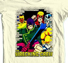 The Wrecking Crew T shirt vintage Marvel comics super hero cotton graphic tee