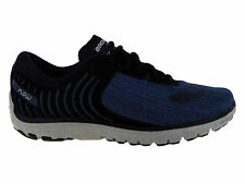 NEW MENS BROOKS PUREFLOW 6 RUNNING SHOES TRAINERS HEATHER / BLACK / DENIM BLUE