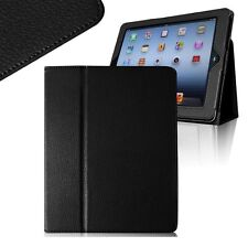 Leather Stand Case Cover for Apple Ipad 2 / 3 / 4 with Screen Protector & Stylus