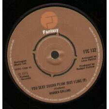 """RODGER COLLINS You Sexy Sugar Plum 7"""" VINYL UK Fantasy 1973 B/w I'll Be Here"""