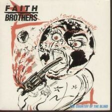 """FAITH BROTHERS Country Of The Blind 7"""" VINYL UK Siren 1985 B/W Thrill Of The"""