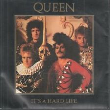 """QUEEN It's A Hard Life 7"""" VINYL UK Emi 1984 B/W Is This The World We Created"""