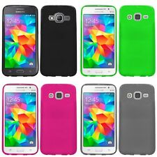 For Samsung Galaxy Grand Prime LTE G530 Case TPU Rubber Phone Slim-Grip Cover