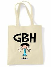 GBH SHOULDER  TOTE BAG - Great Big Hugs  Text Abbreviation Facebook Twitter