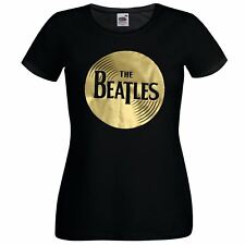 Ladies The Beatles Record Abbey Road T Shirt