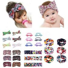 Infant Baby Toddler Girls Cute Floral Headband Lot Bow Flower Hair Band Headwear