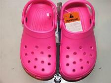 CLASSIC CROCS CLOGS HOT PINK youth SZ 3 or 4 NWT AUTHENTIC FREE SHIPPING!