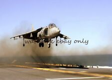 AV-8B Harrier II Color Photo USN NAVY Military USS Boxer LHD 4