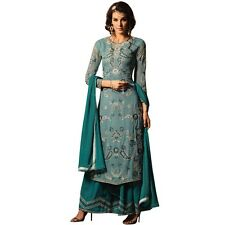 Bollywood Wedding Georgette Embroidered Salwar Kameez Suit India-Glamour-34005-B
