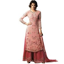 Bollywood Wedding Georgette Embroidered Salwar Kameez Suit India-Glamour-34005-A