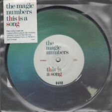 """MAGIC NUMBERS This Is A Song 7"""" VINYL UK Heavenly 2007 Pic Disc Part 2 Of A 2"""
