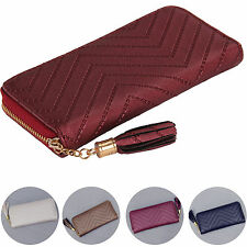New Fashion Women Leather Card Holder Wallet Clutch Purse Lady Long Handbag
