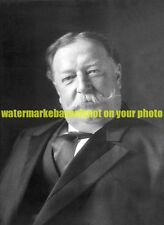 United States 27th President William Howard Taft Black n White Photo Military