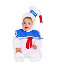 Ghostbusters Stay Puft Marshmallow Man Child Costume Boys Toddler Aliens 2T-4T