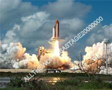 Space Shuttle Atlantis Take off  Color Photo Nasa USAF Military Aircraft UFO