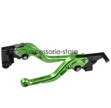 Green Brake Clutch Levers for Suzuki SV650/S SV1000/S DL650/1000 GSR600/750 GSX