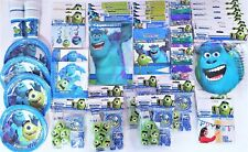 Monsters University Party Tableware Decorations party packs - Choose your item