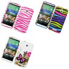 For HTC Desire 510 Hard Phone Case Design Rubberized Snap-On Cover