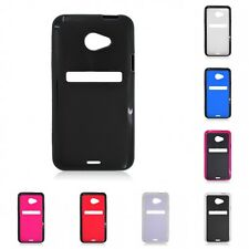 For HTC EVO 4G LTE Case Slim Thin Hard TPU Shockproof Cover Hybrid