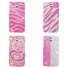 For HTC Desire 610 Case Diamond Bling Luxury Fashion Cute Hard Cover