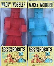 Rock Em Sock Em Robots Wacky Wobbler Bobblehead Set by FUNKO NIB