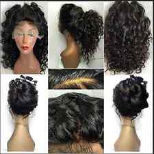 Women Brazilian Lace Front Human Hair Wigs Curly Wave Wigs Full Lace Front Wig