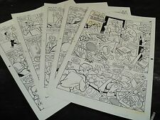 Original Art Story (Archie 422) 5 Pages COMPLETE! STAN GOLDBERG 1994 ART#419