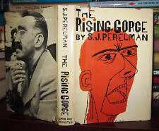 Perelman, S. J. THE RISING GORGE  1st Edition Early Printing