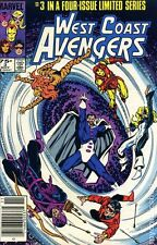 West Coast Avengers (1984 Limited Series) #3 VF