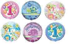 "1st Birthday Foil Balloon 18"" First/Boy/Girl/Decorating/Party/Helium"