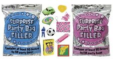 Surprise Party Bag Filler Pack 30+ Favors - Pink/Blue (Kids/Birthday/Celebrate)