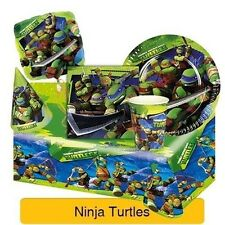 Teenage Mutant NINJA TURTLES Birthday Party Range - Tableware & Decorations