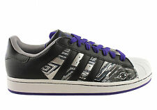 NEW ADIDAS SUPERSTAR 2 CB MENS LACE UP RETRO SHOES SNEAKERS
