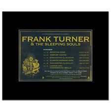 FRANK TURNER - UK Tour 2011 Mini Poster - 13.5x21cm