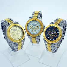 New Fashion Luxury Gold Luxury Man Wristwatch Jewelry Xmas Gift 3 Color NG01