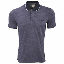 Bench Mens Shadowy Short Sleeve Polo Shirt With Embroidered Logo