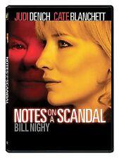 Notes on a Scandal (DVD, 2009) Free Shipping MINT