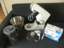 Kenwood Chef Classic + 3 attachments Blender, Metal Bowl &  Kenwood mixer/wisker