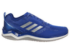 NEW MENS ADIDAS SPEED TRAINER 3.0 RUNNING SHOES TRAINERS COLLEGIATE ROYAL / SILV